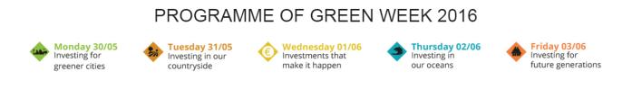 Green Week 2016